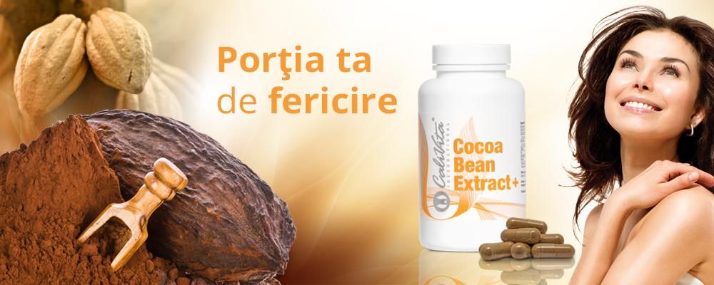 Cocoa Bean Extract, pentru menținerea echilibrului mental