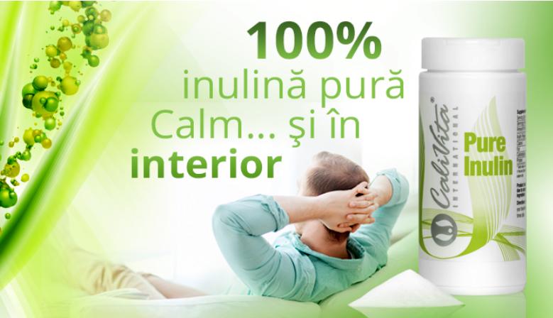 Pure Inulin, pentru probleme intestinale si detoxifiere